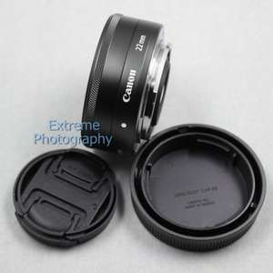 Genuine Canon EF-M 22mm F/2 Wide Angle Prime STM Lens for Canon EOS-M Camera