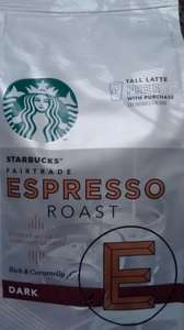 Starbucks 200g coffee beans and FREE tall latte from starbucks. £2.50 @ Tesco