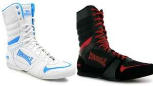 Lonsdale Cyclone Boxing Boots for Men, White and Black £17 plus £3.99 P&P @ Lonsdale.com