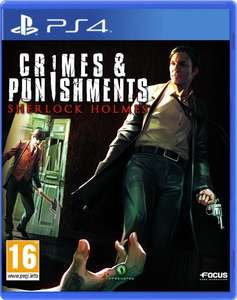 Crimes and Punishments Sherlock Holmes Ps4  £26.99 used Grainger Games