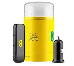 EE Buzzard Pay As You Go 4G In-Car WiFi (with 2GB Card) @ PC WORLD Online £29.99