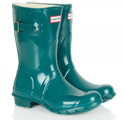 Hunter short wellies £36 delivered @ Daniel Footwear