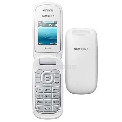 samsung E1270 O2 free p&p white flip phone £4.99 @ O2