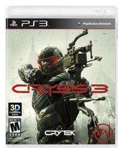 Crysis 3 (PS3)  = was £6 now £4.50 delivered @ TescoDirect (Clubcard boost available too)