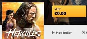 Hercules (2014) showing as free to rent in HD on Blinkbox!