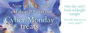Liz Earle Cyber Monday offers - 20% off selected lines - xmas edition cleanse and polish now £15.80 - Free delivery on all orders