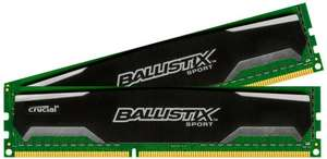 Cyber Monday - Crucial Ballistix DDR3 (2x4gb) 1600mhz Ram - Dispatched/Sold from Amazon - Free delivery at £47.99