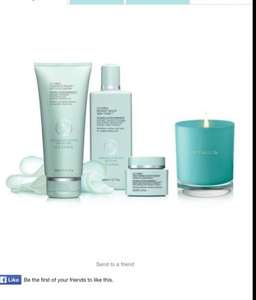 Liz Earle Skincare set - £45 free delivery + free candle! RRP £80.50!!