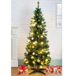 5ft pop up christmas tree...£29.99 @ Poundstretcher