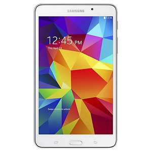 "Samsung Galaxy Tab 4 7.0 Tablet, Quad-core Marvell PXA, Android, 7"", Wi-Fi, 8GB, White £139 at John Lewis"