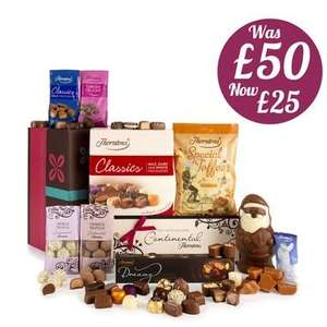 Family Feast Christmas Hamper (Was £50) now only £23.95 including delivery at Thorntons