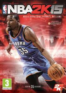 NBA 2K15 (XBOX ONE & PS4)  £25.00 Delivered @ AMAZON
