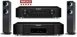Marantz CD6005 CD Player And PM6005 Amplifier In Black With 2050i Graphite Package Deal £819.95 @ hispek