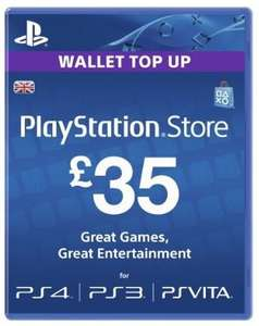 PSN Credit £35 for £30 delivery - Amazon