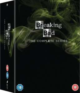 Breaking Bad: The Complete Series [DVD] £35 With Free Delivery at Amazon