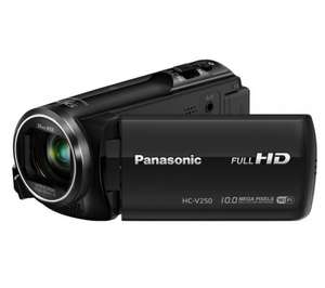 Panasonic hc-v250 camcorder £219.99 (£159.99 after cashback) @ Currys
