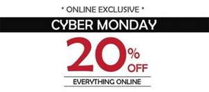 20% off everything at C & H Fabrics Online - Cyber Monday