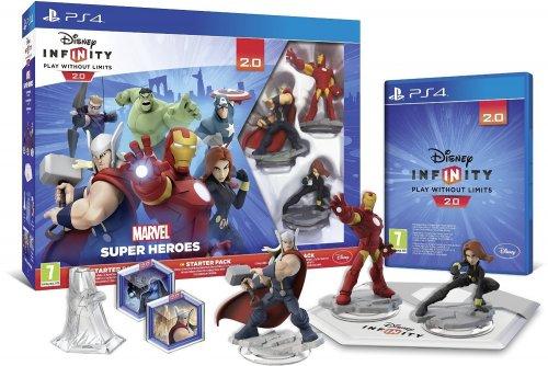 Disney Infinity 2.0 Marvel Superheroes Starter Pack PS3 / Xbox £32.99 PS4 £37.00 @ Amazon