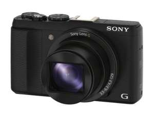 Sony DSCHX60 Compact Digital Camera with Wi-Fi and NFC £199 plus £30 cash back @ Amazon