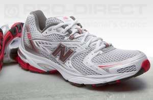 New Balance Mens MR 663 trainers - White/Silver/Red SIZE 6.5  £10 + £3.95 postage = £13.95  @  prodirectrunning.com