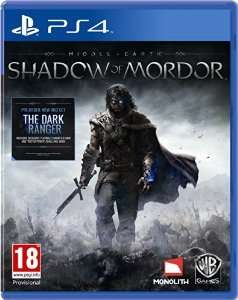 Shadow of Mordor PS4/XB1 £21.49 @ GAME