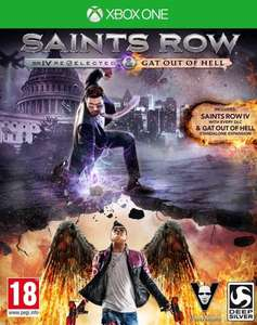Saints Row IV Re-elected & Saints Row: Gat Out of Hell £30 Pre order @ Amazon