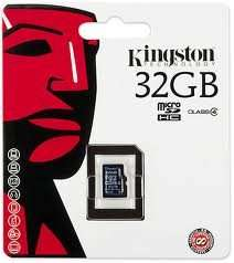 Kingston microSDHC Memory Card - 32GB - Class 4 + SD Adapter £10.39 at 7 Day Shop CYBER MONDAY DEAL