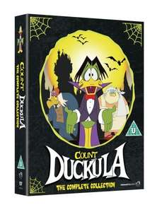 Count Duckula the complete collection on DVD 1998 £9.99 @ Amazon