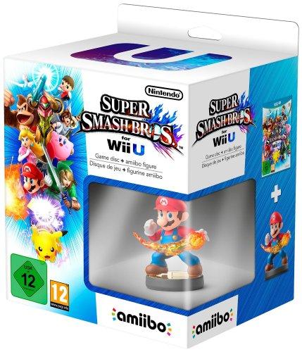 Smash Bros Wii U + Mario Amiibo £43 Delivered @ Amazon, eligible for no rush delivery credit.