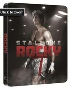 Rocky: Remastered (Limited Edition Steelbook Blu-ray) £14.99 @ Play/FoxDirect