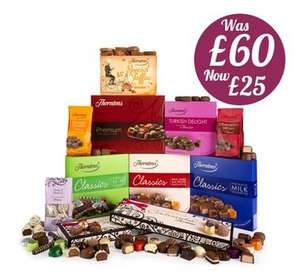 Thorntons Christmas Mega Gift Collection (Was £60, now £25.00)  with code, inc delivery!