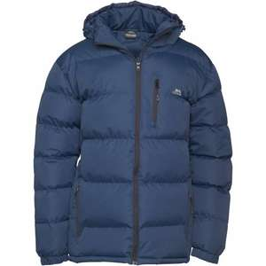 Trespass Mens Clip Padded Hooded Jacket Navy £23.99