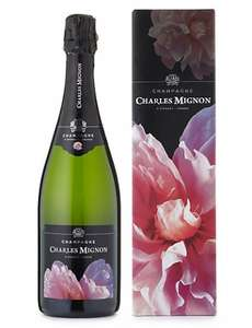 M&S Half Price Champagne | Charles Mignon 'Hymne à l'Amour' - Single Bottle £16 @ M&S