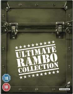 The Ultimate Rambo Collection 1-4 (2013) Blu-ray  at Zavvi now down to £13.99 from previous..