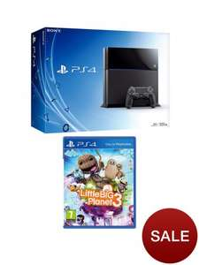 PS4 console with little big plannet 3 and 0% interest free over 3 months (New Customers) with code - £273.94 @ Very