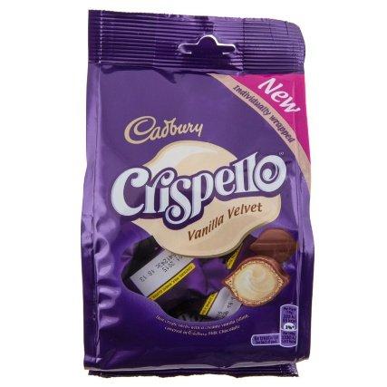 Cadbury Crispello Vanilla Velvet 120g Bag Just 10p @ B & M