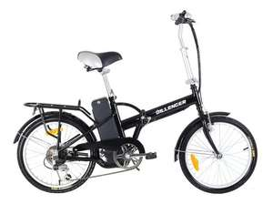 Dillenger folding electric bike £406.80 including VAT and delivery at Dillenger Electric Bikes UK