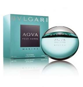 Bvlgari Aqua Marine Eau Da Toilette 30 ml Spray was £26 now £8.67 @ Tesco Direct.