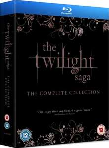 The Twilight Saga: The Complete Collection [Blu-ray] £17.36 delivered at Amazon