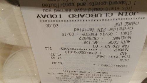 Cushelle 16 Toilet Rolls £1.93 Instore at Tesco