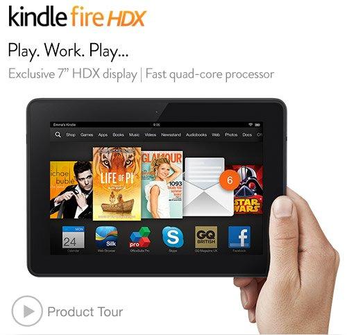 Kindle Fire HDX £100 at Argos with £20 argos vouchers!