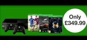 Xbox One 500gb, Fifa 15, Forza 5 GOTY, Halo MC Collection plus extra Wireless Controller only £349.99 @ Game