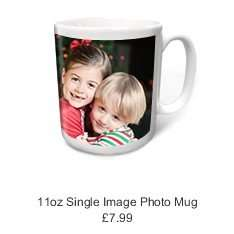 Personalised photo mug for £3.00 delivered with code at Truprint