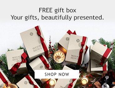 Free Delivery @ Molton Brown till midnight 8th Dec