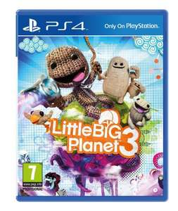 Little Big Planet 3 on PS4 finally below £40 at £39.99 delivered @ Amazon