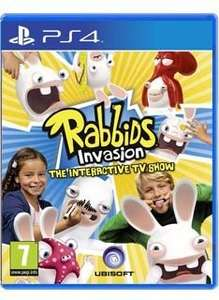 rabbids invasion ps4  from simply games £14.85 delivered