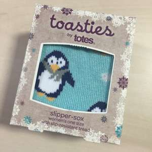 Toasties by Totes Slipper-Sox - Sainsburys instore