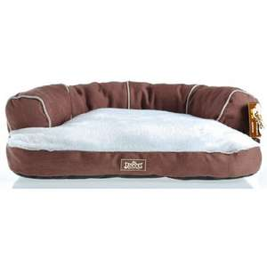 Kingpets Luxury Plush Dog Cat Sofa Bed Sizes S and L £12.44 (Small) delivered @ Petplanet.com