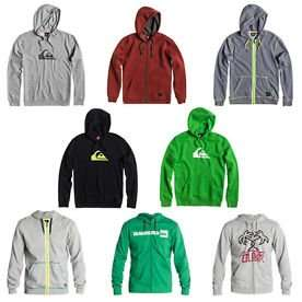 QUIKSILVER™ Hoodie and Sweatshirt in S, M, L, XL £19.99 Delivered @ Quicksilver Store