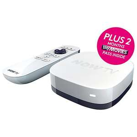 Now tv + 2 months sky movies pass £14.99@ John Lewis